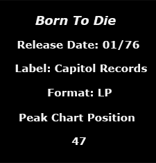 Born To Die data