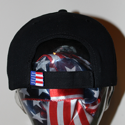 Flag Flame Hat back