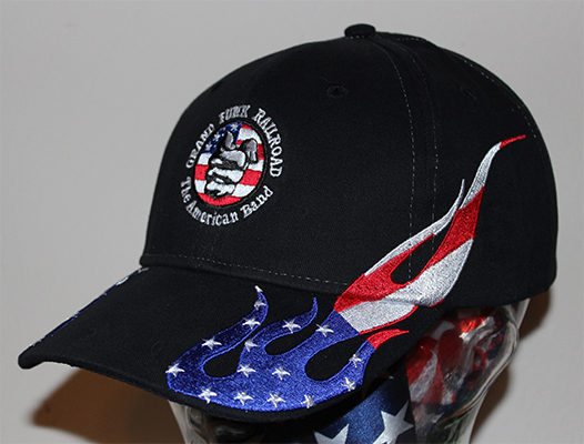 Flag Flame Hat left