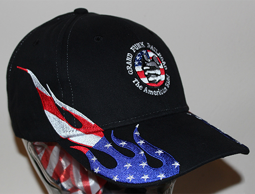 Flag Flame Hat right